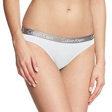 Calvin Klein Damen Slip RADIANT COTTON - BIKINI, Gr. S, Weiß (WHITE 100)