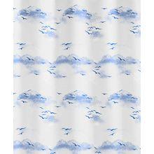 Kleine Wolke 0826739305 Duschvorhang Sky, 180 x 200 cm, polarblau