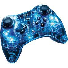 Wii U Afterglow Wireless Controller - blau