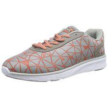 KangaROOS K-Light 8012, Unisex-Erwachsene Sneakers, Grau (Mid Grey/dk Peach 273), 38 EU