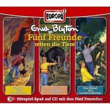 """CD Fünf Freunde: """"Retten die Tiere""""-Box (40, 41, 46) Hörbuch"""