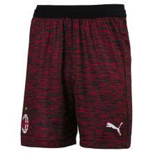 PUMA Shorts 'AC Milan' cranberry / schwarz / weiß