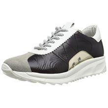 Bronx BrodaX, Damen Sneakers, Mehrfarbig (1565 L. Grey/Black/White), 37 EU