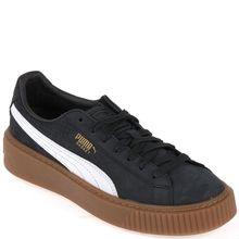 Puma Sneaker - SUEDE PLATFORM PERF. GUM schwarz-weiß