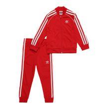 ADIDAS ORIGINALS Anzug rot / weiß