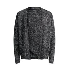 JACK & JONES Lässige Strickjacke Herren Grau