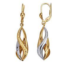 Diemer Highlights Ohrringe in Gold 585 mehrfarbig Damen