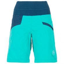 La Sportiva - Women's Ramp Short - Kletterhose Gr L;M;S;XL;XS schwarz;gelb;türkis/blau