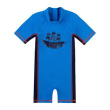 SANETTA Schwimmanzug für Jungen blau