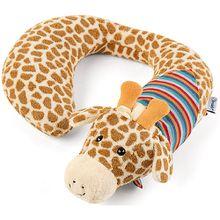 Nackenstütze Kuschelzoo, Giraffe Greta, L beige
