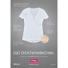 Mey Basics Balance Damen Shirts 1/2 Arm Weiß 40