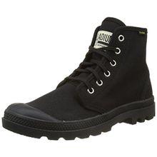 Palladium Unisex-Erwachsene Pampa Hi Originale Hohe Sneaker, Schwarz (Black/Black), 46 EU