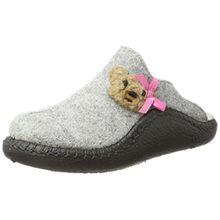 Romika Unisex-Kinder Mokasso 133 Pantoffeln, Mehrfarbig (Grau-Kombi (711)), 34 EU