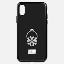 Mazy ring Smartphone Schutzhülle mit integriertem Stoßschutz, iPhone® X/XS, schwarz