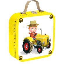 Janod Puzzle Köfferchen viereckig Peter's Traktor