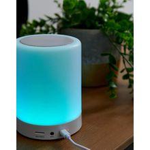 Thumbs Up – Berührungsempfindliche Lampe und kabelloser Lautsprecher-Mehrfarbig