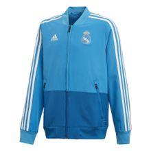 ADIDAS PERFORMANCE Fußballjacke 'Real Madrid' blau / türkis
