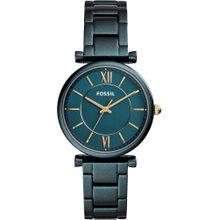 FOSSIL Uhr gold / smaragd