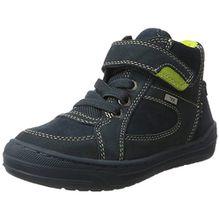 Lurchi Jungen Barney-Tex Hohe Sneaker, Grün (Dk.Petrol), 30 EU