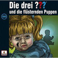 CD Die Drei ??? 180 - und die flüsternden Puppen Hörbuch