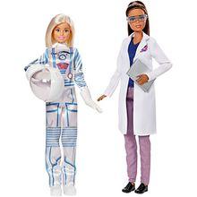 Barbie 2er Set Karriere-Puppen: Astronautin und Weltraumforscherin