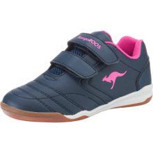 KangaROOS Sneaker 'Inyard V' blau / pink