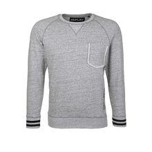 REPLAY Sweatshirt im Casual-Look Sweatshirts grau Herren
