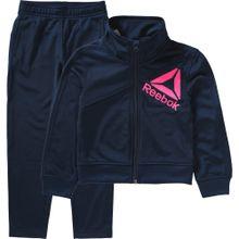 REEBOK Trainingsanzug blau / pink
