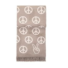 Peace Plaid taupe