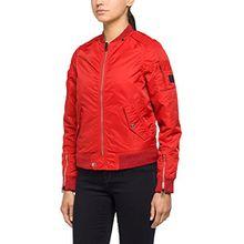 Replay Damen Jacke W7335B.000.82834, Rot (Red 354), Large
