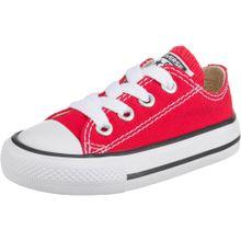 CONVERSE Sneaker 'Chuck Taylor All Stars OX' rot / weiß