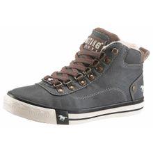 MUSTANG Shoes Sneaker braun / rauchgrau