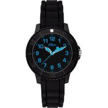 S.Oliver Uhr schwarz