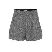 Shorts aus Wolle