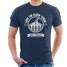 Back To The Future Save The Clock Tower Men's T-Shirt