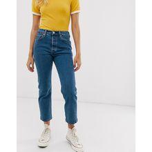 Levi's - 501 - Kurze Jeans in reiner Rinse-Waschung - Blau