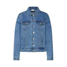 VILA Jacke 'VIJULES WASHED DENIM JACKET' blue denim