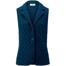 Strickweste aus 100% Schurwolle BIELLA YARN Peter Hahn blau
