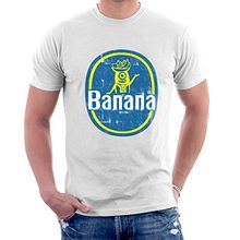 BANANAAAAAAA Minions Banana Sticker Stuart Men's T-Shirt