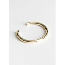 Thick Cuff Bracelet - Gold