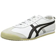Onitsuka Tiger Mexico 66 Dl408-0190-8h, Unisex-Erwachsene Sneakers, Weiß (White/Black 0190), 42 EU