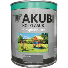 Holzlasur-Set Silbergrau 750 ml