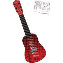 The Voice: Meine erste Gitarre, 53 cm schwarz/rot