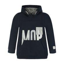 Marc O'Polo Junior Junior Sweatshirt mit Kapuze navy / weiß