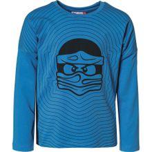 LEGO WEAR Shirt 'Ninjago' himmelblau