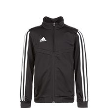 adidas Performance Tiro 19 Polyester Trainingsjacke Kinder schwarz/weiß