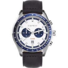 ESPRIT Chronograph 'ES108241002' saphir / schwarz / weiß