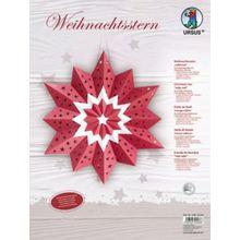 URSUS Weihnachtsstern rubinrot
