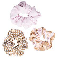 Rip Curl - Women's Paradise 3Pk Scrunchies - Haarband Gr One Size weiß/beige/grau
