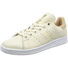 adidas Damen Stan Smith Sneaker, Elfenbein (Off White/Off White/St Pale Nude), 37 1/3 EU